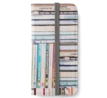 Books Vintage iPhone Wallet/Case/Skin