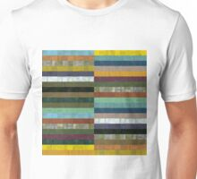 Wooden Abstract lX Unisex T-Shirt