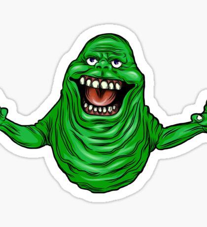 Green Slimer!  Sticker