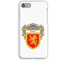 Jones Irish Coat of Arms/Family Crest iPhone Case/Skin
