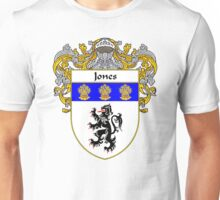 Jones Welsh Coat of Arms/Family Crest Unisex T-Shirt