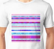 Chillout Stripy (pink) Unisex T-Shirt