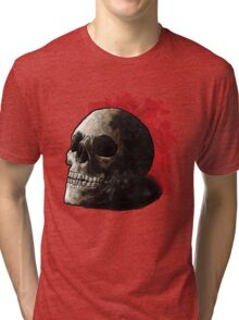 Skull Illustration Tri-blend T-Shirt