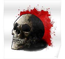 Skull Illustration Poster