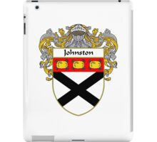 Johnston Coat of Arms/Family Crest iPad Case/Skin
