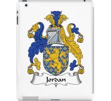 Jordan Coat of Arms / Jordan Family Crest iPad Case/Skin