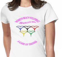 BRAZILIAN Beach Volleyball Mk11 Womens Fitted T-Shirt