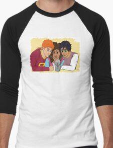 The Golden Trio share a hot cocoa Men's Baseball ¾ T-Shirt