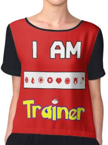 I Am Trainer  Chiffon Top