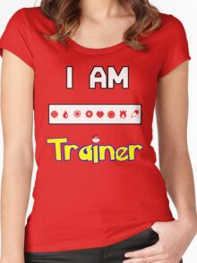 I Am Trainer  Women's Fitted Scoop T-Shirt