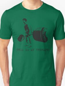 This Is My Therapy (Deadlift) Unisex T-Shirt