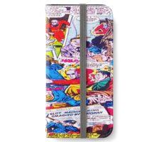 Comic cartoon iPhone Wallet/Case/Skin