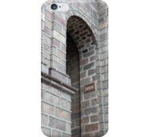 Arch in a Brick Wall iPhone Case/Skin
