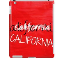 CALIFORNIA CRAZY  iPad Case/Skin