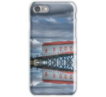 Lifeboat House and Cones iPhone Case/Skin