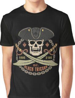 Pirate logo black tricorn Graphic T-Shirt