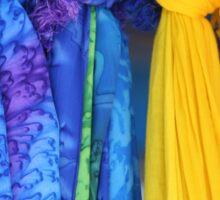 Colorful Fabrics Sticker