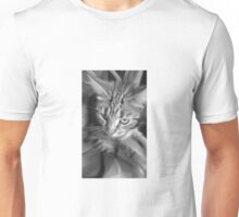 Naomi in black and white Unisex T-Shirt