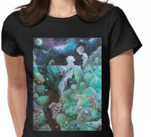 Two Worlds Womens Fitted T-Shirt