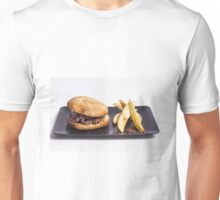 Bacon burger and chips Unisex T-Shirt