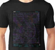 USGS TOPO Map Alabama AL Elmore 303750 1987 24000 Inverted Unisex T-Shirt