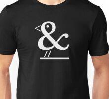 Ampersand Bird Unisex T-Shirt