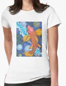 Celestial Swim Womens Fitted T-Shirt