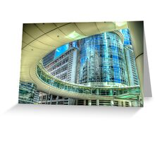 Chevron Headquarters Building - Houston, Texas Greeting Card