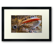 American Airlines Hangar - Dallas-Fortworth Texas Framed Print