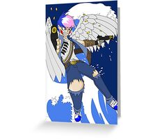 Raiden Legacy - Bullet Angel Greeting Card