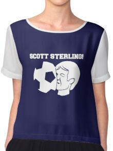 Scott Sterling! Chiffon Top