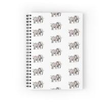 Elephant Spiral Notebook