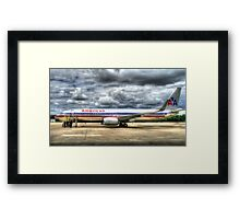 George Bush International - Dallas-Fortworth Airport Framed Print