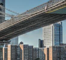 New York Brooklyn Bridge Sticker