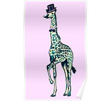 sir giraffe Poster