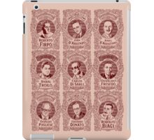 Tango Orchestra Leaders (in red) iPad Case/Skin