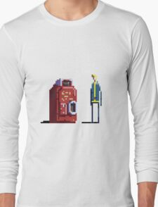 Vault boy and Nuka-Cola vending machine Long Sleeve T-Shirt