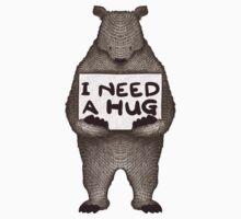 I Need a Hug Baby Tee