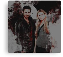 Captain Swan Canvas Print