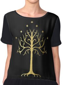 golden tree of Gondor Chiffon Top