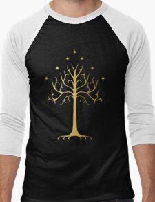 golden tree of Gondor Men's Baseball ¾ T-Shirt