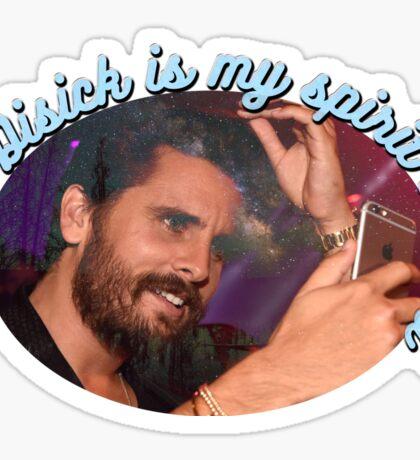 Scott Disick is my spirit animal Sticker