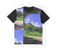 Alpilles on a sunny day Graphic T-Shirt
