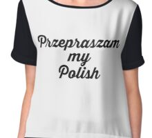 POLISH Chiffon Top