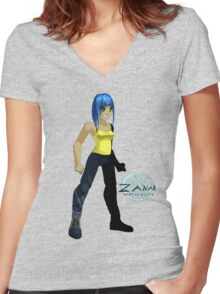 """Fae - """"Za'nar"""" Character Shirt Women's Fitted V-Neck T-Shirt"""