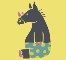 Rhino in pants One Piece - Short Sleeve