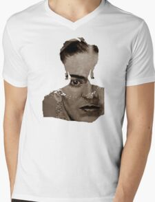 FRIDA - shirt version - sepia Mens V-Neck T-Shirt