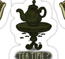 Tea Time? Sticker