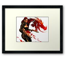 Guild Wars 2 - A human shooter Framed Print