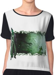 Guild Wars 2 - A sylvari story Chiffon Top